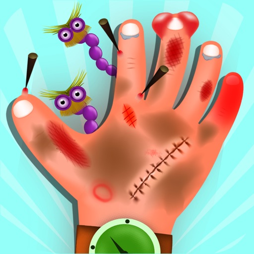 kids Hand and Nail Doctor - Nail and hand surgery, kids free Game For fun