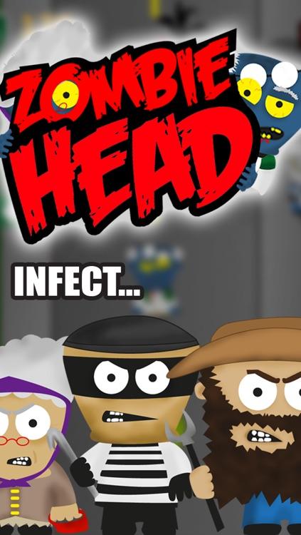 A Zombie Head Free HD - Virus Plague Outbreak Run