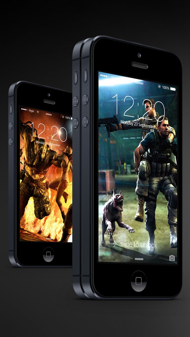 download HD Resident Evil version wallpapers - Ratina Background & Lock Screen for all iOS Device apps 0