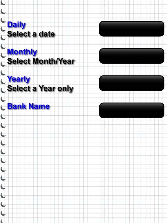 Cash Flow Tracker for iPad(3rd Gen)