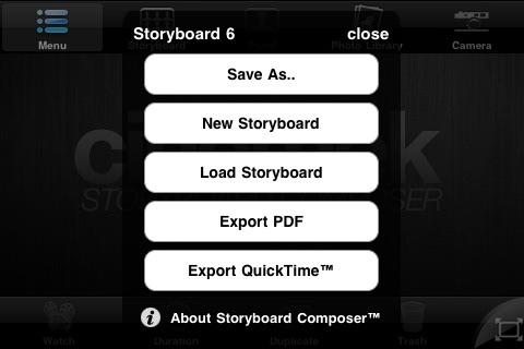 Storyboard Composer screenshot-4
