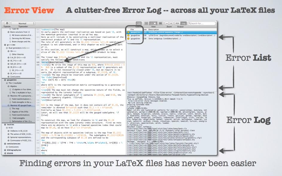 Texpad 1 8 7 – LaTeX editor | macOS | NMac Ked