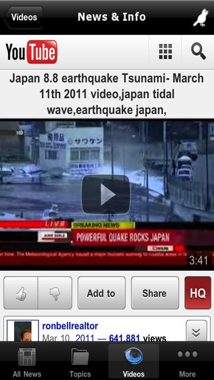 Earthquake Alerts and News Information screenshot-4