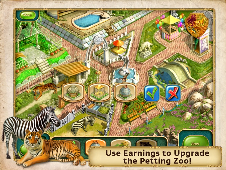 Gourmania 3: Zoo Zoom HD screenshot-3