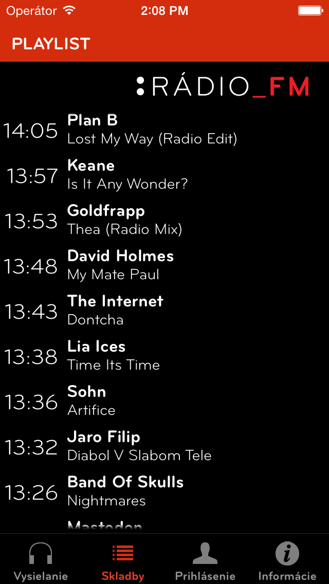 Rádio_FM screenshot two