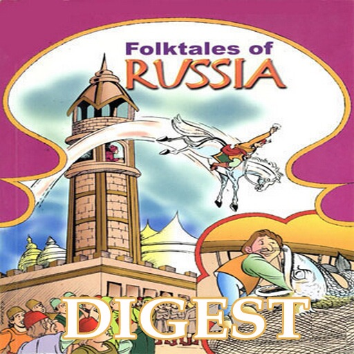 Folk Tales of Russia Digest (Entertaining stories from Russia  -  Amar Chitra Katha TINKLE Comics