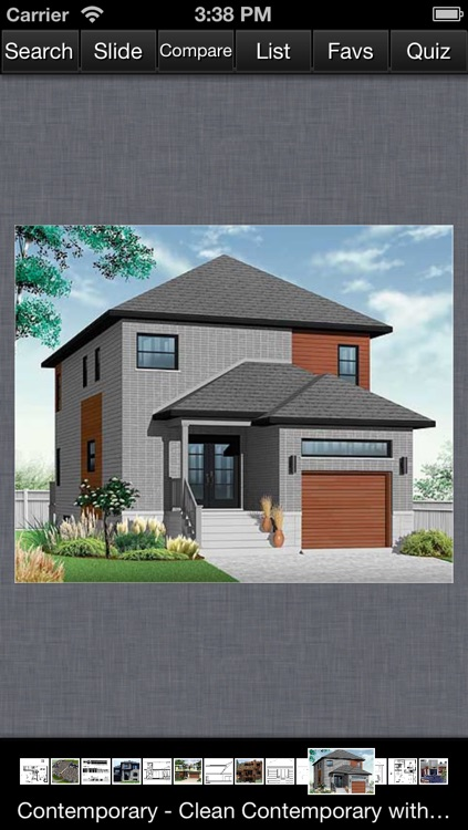 Contemporary House Design - Family Home Plans