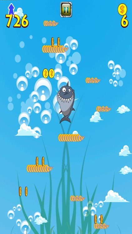 A Shark Jump Free Game - Underwater Bubble Attack of the Submarines Adventure screenshot-3