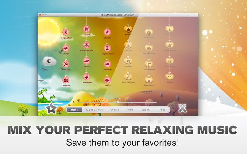 Relax Melodies Seasons Screenshot