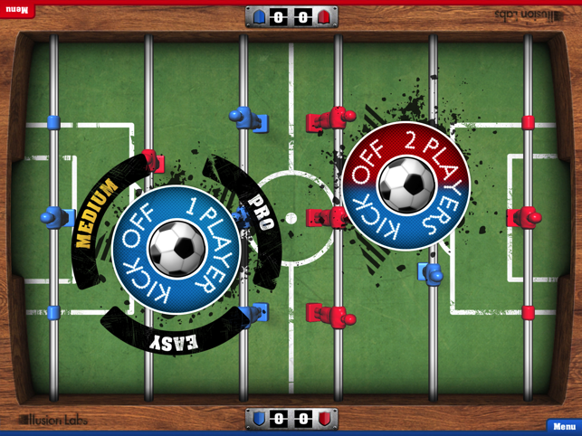 ‎Foosball HD Screenshot