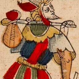 Original Marseilles tarot by Jean Dodal, full deck