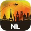 オランダ オフラインマップ、ガイド。ホテル、天候、旅行 アムステルダム,ロッテルダム,マーストリヒト,遠慮なく言って