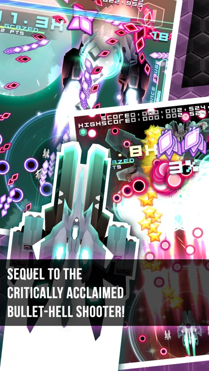 Danmaku Unlimited 2 lite - Bullet Hell Shump screenshot-0