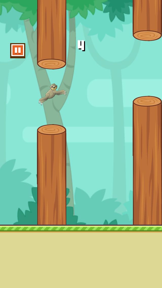 Flappy Slothのおすすめ画像4