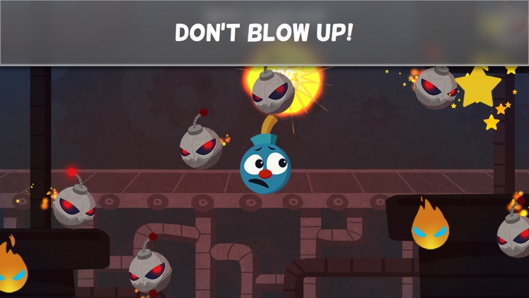 Bomb Dodge - Don't Explode! Hectic Gameplay by Smashing Bombs, Dodging Explosions and Avoiding Fireballs screenshot-3