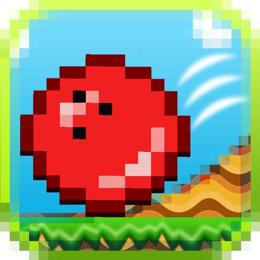 A Bounce World - Bounce the red ball to avoid the spikes!