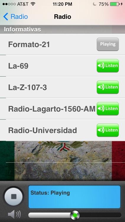México Radio y Noticias screenshot-3