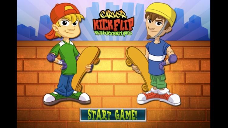 Carver Kickflip - Skateboard Pro