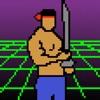 SuperBoss 3: 2050年からのナイフ攻撃戦士ジャンプ