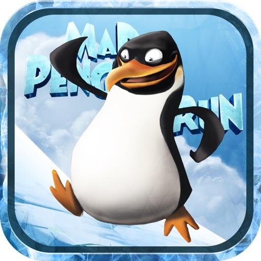 Mad Penguin Run - Free Fun Animal Jumping Game