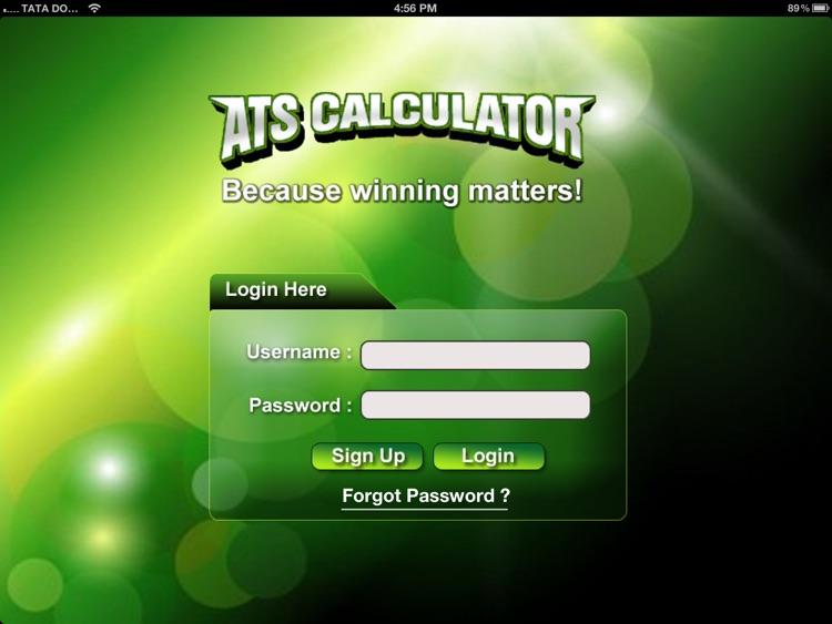 ATS Calculator -  Sports Predictions Software 2014 screenshot-4