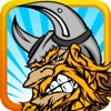Viking Invasion : Clash of Tiny Warriors for the Castle Tower