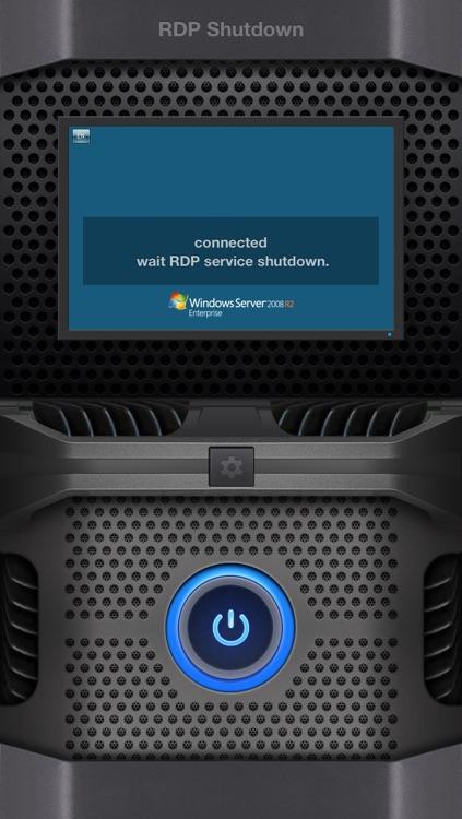 RDP Shutdown