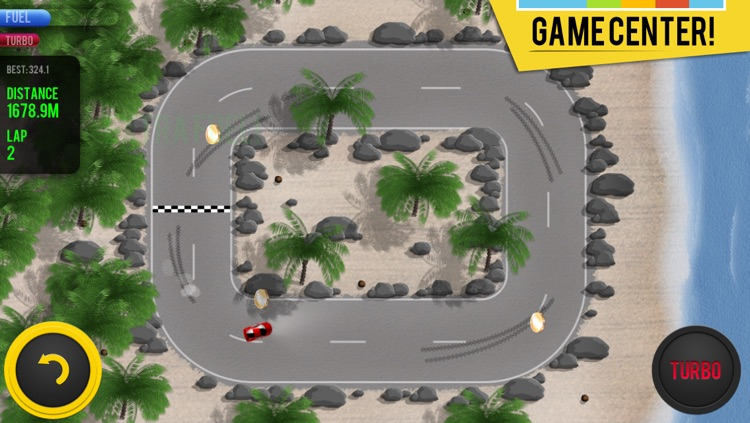 Micro Racing - arcade cars challenge screenshot-1