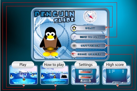 Penguin Slide Free