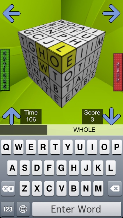 3D Word Cube *Free* Boggle Your Mind