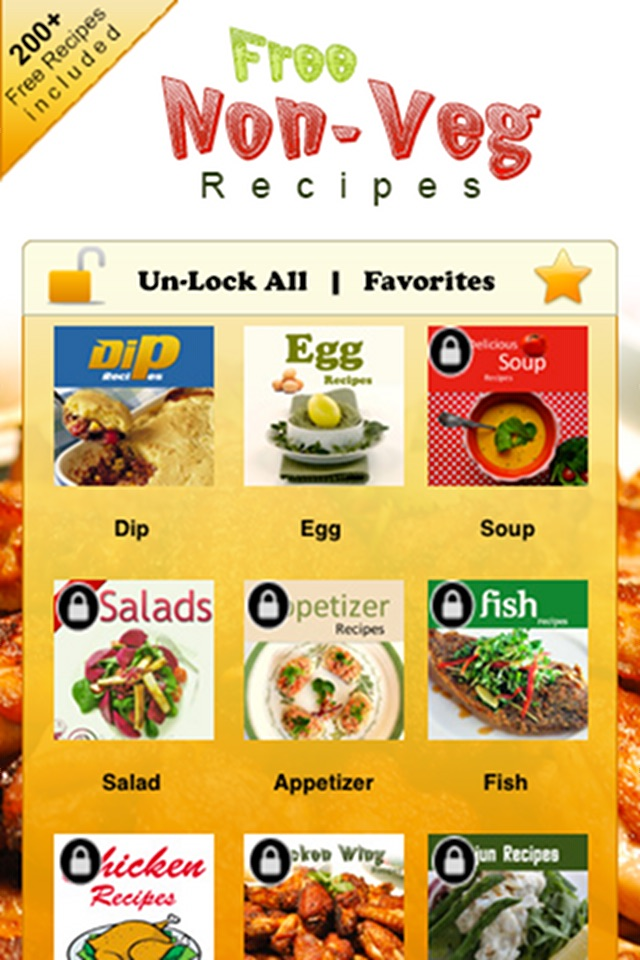 2000 Non-Veg Recipes Screenshot