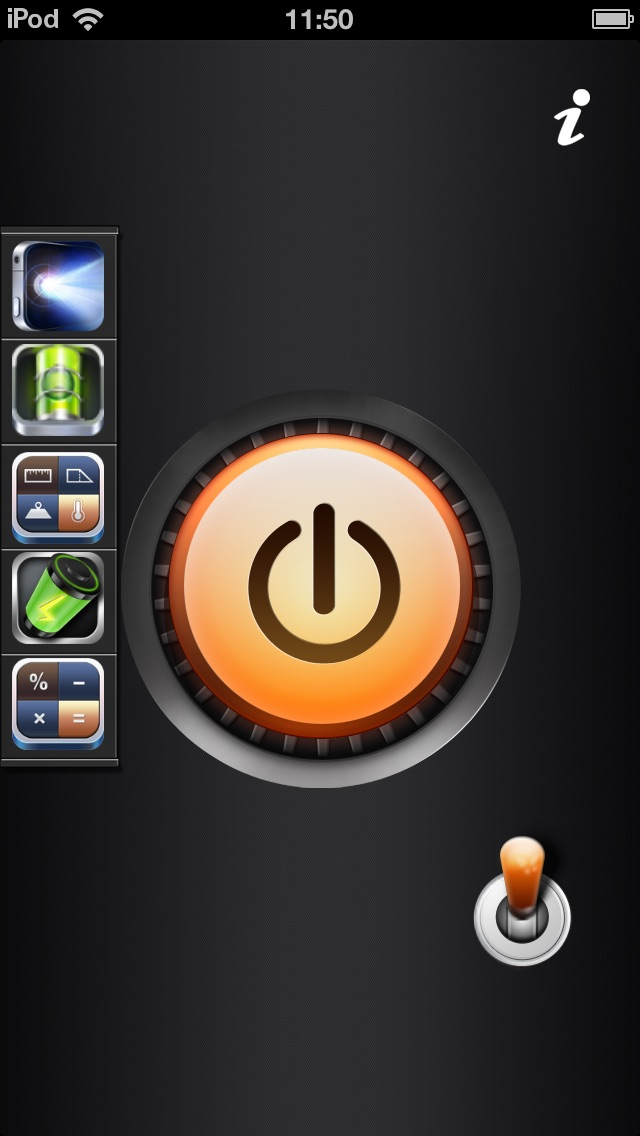 download iToolkit free-flashlight,dual level,battery master,calculator,unit converter apps 2
