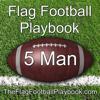 5 Man Flag Football Playbook