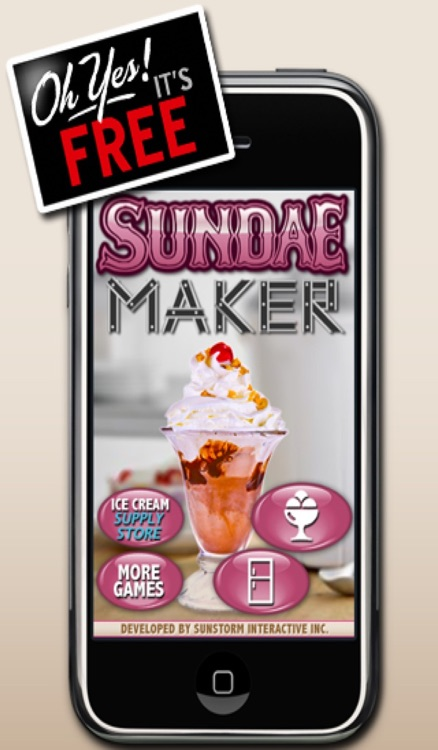 Sundae Maker screenshot-0