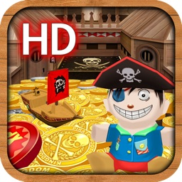 Kingdom Coins HD Pirate Booty Edition -  Dozer of Coins Arcade Game
