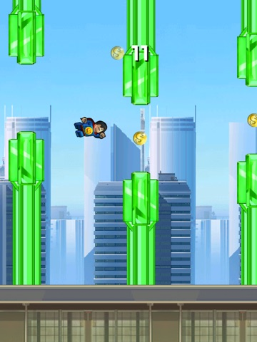 Super Flappy Justice League- Play Free Comic Hero Edition-ipad-0