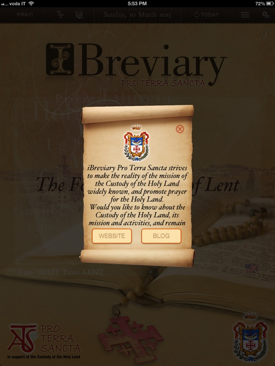 iBreviary Pro Terra Sancta HD screenshot-4