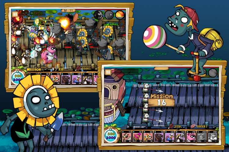9Heroes Defence : Zombie Invasion screenshot-4