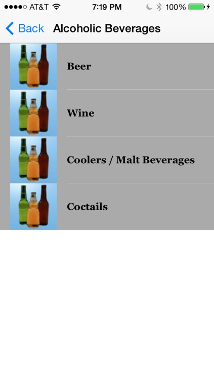 Calories in Alcohol and Snacks screenshot-4