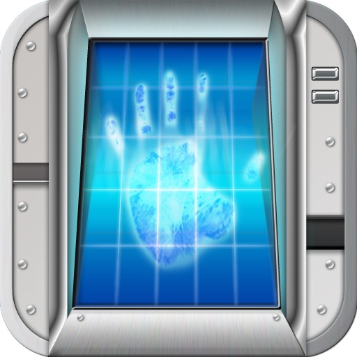 Fingerprint Alarm Scanner HD icon