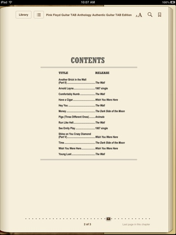 Pink Floyd: Guitar TAB Anthology by Pink Floyd on iBooks