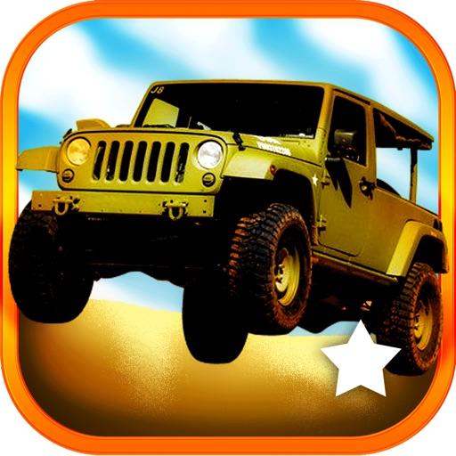 3D Combat Jeep Racing Simulator Challenge Pro