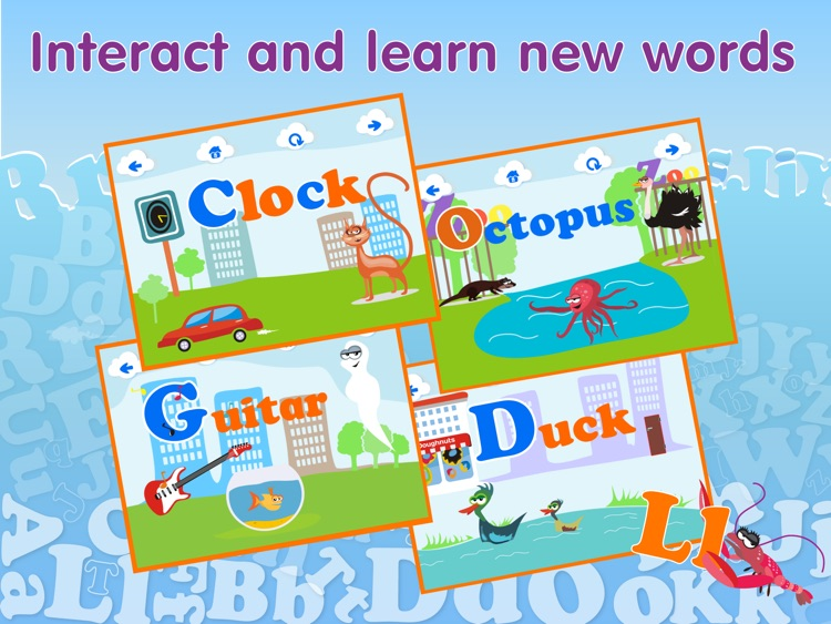 ABCs alphabet - Learning games for kids screenshot-2