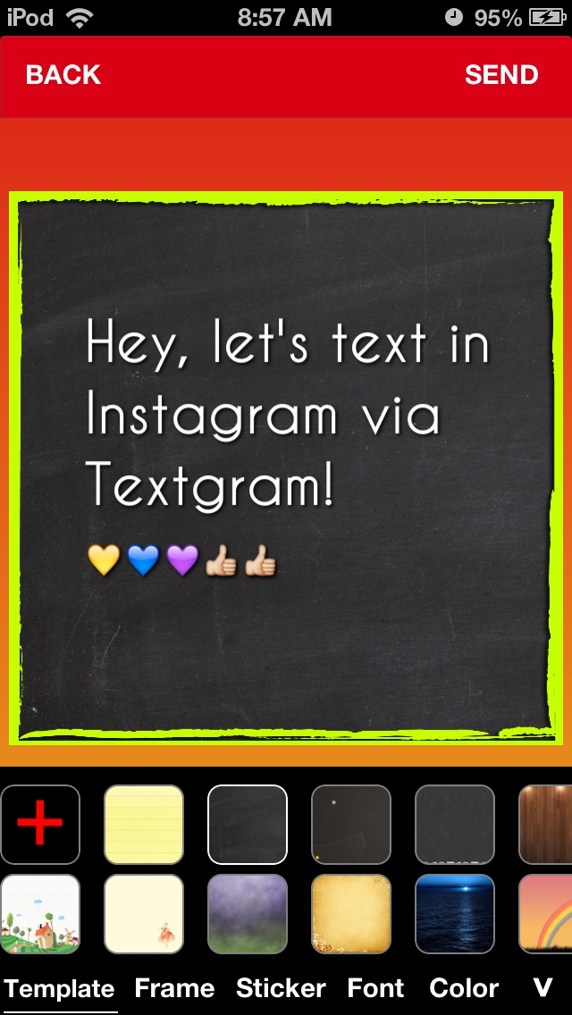 TextPic - Texting with Pic Screenshots