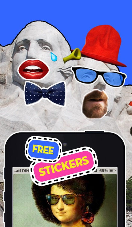 Stickerzap - The free stickers app