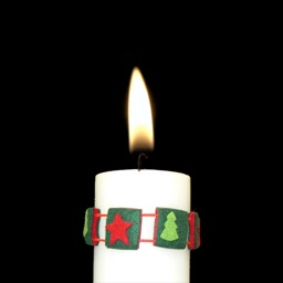 Free Christmas Candle