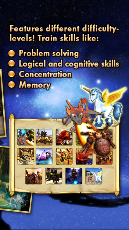 Puzzles dragons & unicorns puzzle game collection for kids and toddlers screenshot-4