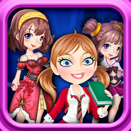 Girls games - Party Dress up 4 in 1