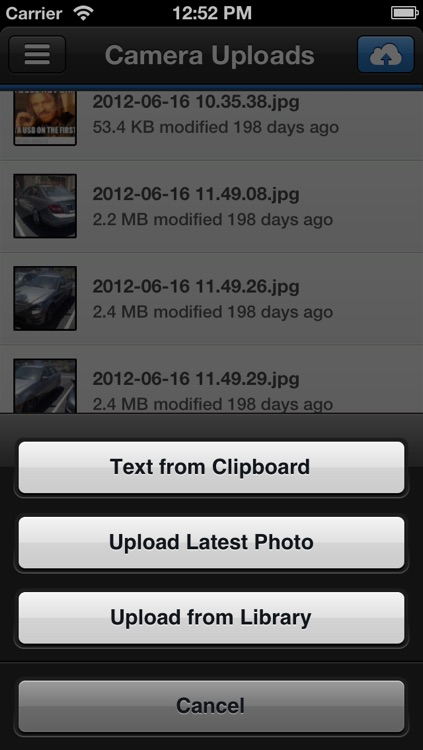 ClouDrop for Dropbox screenshot-2