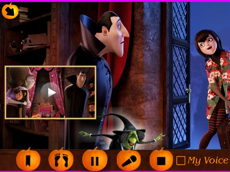 Hotel Transylvania Movie BooClips HD screenshot-2